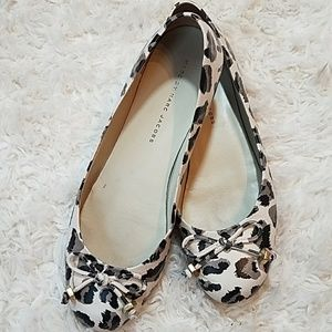Marc by Marc Jacobs Animal Print Flats